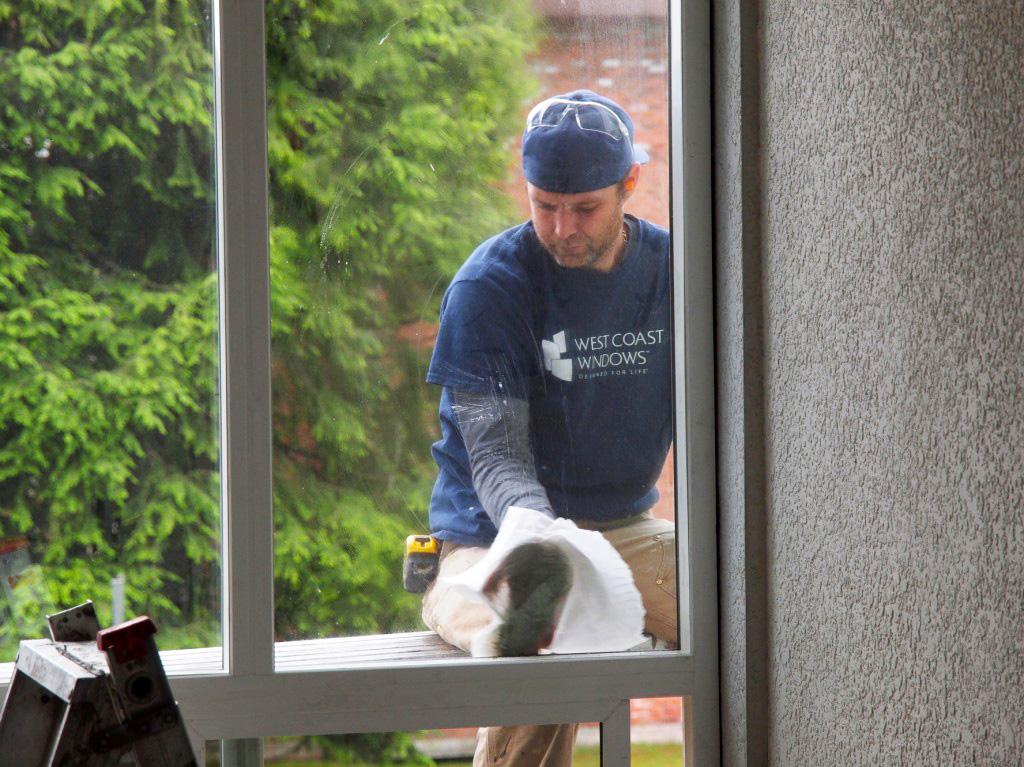 West Coast Windows Installation Crew