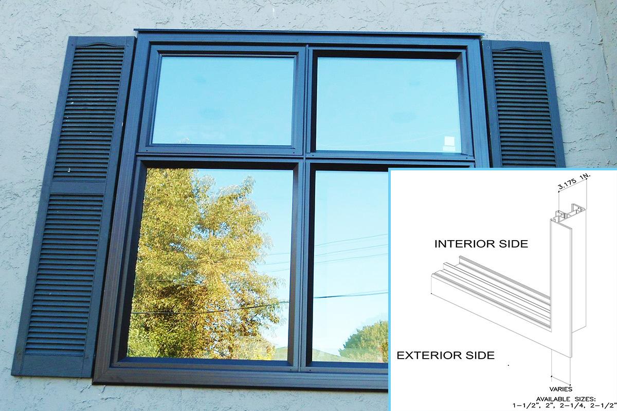 Install Vinyl Brickmould Luxury Home Design