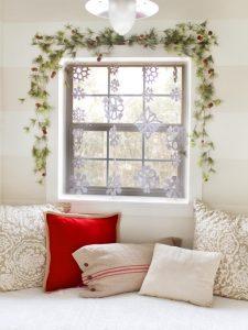 Snowflake-Curtain