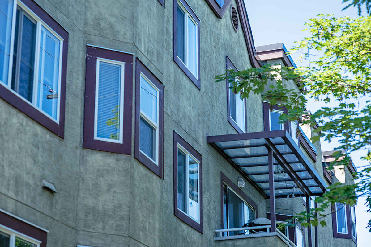Spruce Apartments West Coast Windows