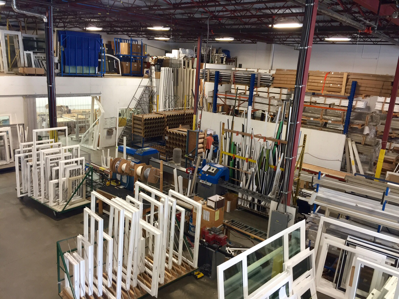 Local manufacturing west coast windows for Window factory